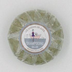 Le shampooing solide antipelliculaire Joya avec huiles essentielles