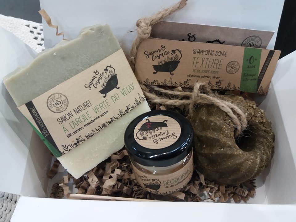 Shampooing solide savon&Cosmeto texture salon Isabelle Coiffure